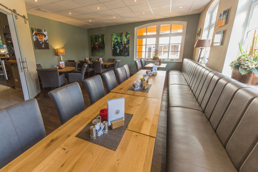 Restaurant mit clubraum